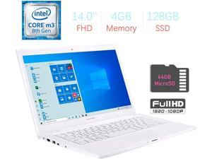 ASUS ImagineBook 14'' FHD (1920x1080) LED Display, Intel Core M3-8100Y, 4GB RAM, 128GB SSD, USB Type-C, Webcam, HDMI, Bluetooth, ASUS SonicMaster Stereo Speakers, Windows 10 w/Mazery 64GB Micro SD