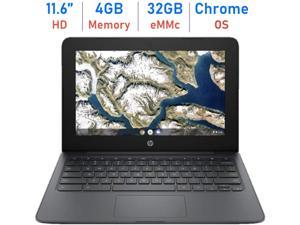 HP Chromebook 11'' Laptop Computer for Student Business Online Class/Remote Work, Intel Celeron N3350 up to 2.4GHz, 4GB DDR4, 32GB eMMC, Webcam, WiFi, Bluetooth, Chrome OS, Mazery Mousepad + 64GB SD