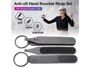 Mazepoly Anti-Off Hand Knuckle Strap Set for Oculus Quest 2 VR