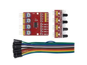 4 Channel Infrared Detector Tracked Photoelectricity Sensor For Smart Car/ Robot