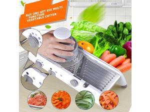 VKTECH Mandoline Manual Vegetable Slicer Cutter With Adjustable Stainless Steel Blade Potato Peeler Carrot Grater Kitchen Gadget