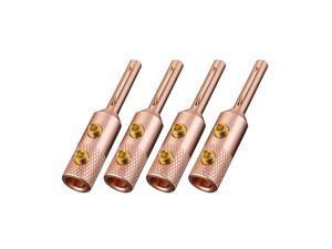 Viborg VB401100% Pure Copper Banana plug speaker cable DIY