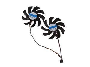 2pcs/set New CF9010H12S RX 480/470 VGA GPU Cooler Graphics Fan For XFX R9 390X/390 8G RX480 RX470 Video Card Cooling PXPA