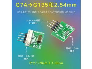 The adapter G7A to G135 and 2.54mm conversion module G7 G10  G1 G3 G5 laser PM2.5 sensor exchange PLANTOWER