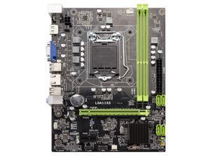 H61 Desktop Motherboard Lga1155 M-Atx For Core I3 I5 I7 Cpu Support Ddr3 Memory With 4 Ports Usb2.0 Vga Hdmi Port