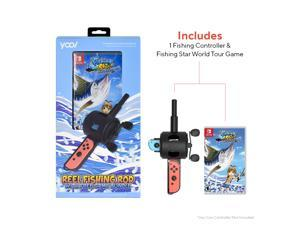 Fishing Star World Tour w/Fishing Rod Bundle