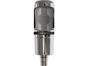 Audio-Technica AT2020 Cardioid Condenser Microphone (Limited Edition Chrome)