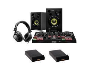 Hercules All-In-One Kit DJLearning Kit with 2x IP-S Isolation Pad Small Bundle