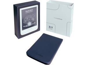"""PocketBook Touch HD 3 Limited Edition (with protective cover). 6"""" E Ink® Carta™; HZO ProtectionTM (IPX 7); SMARTlight; Dual Core (2x1 GHz); Flash memory: 16GB; Accumulator: 1500 mAh (Li-Ion Polymer)"""