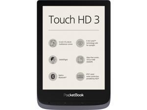 "PocketBook Touch HD 3 Grey. 6"" E Ink® Carta™; HZO ProtectionTM (IPX 7); SMARTlight; Dual Core (2x1 GHz); Flash memory: 16GB; Accumulator: 1500 mAh (Li-Ion Polymer) PB632-K-WW"