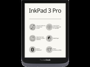 "PocketBook InkPad 3 Pro Grey, 7,8"" E Ink® Carta™ (1404 × 1872), SMARTlight, IPX8, Metallic Grey, Dual Core (2×1 GHz), Operative memory: 1 GB, Flash memory: 16 GB, Accumulator: 1900 mAh"