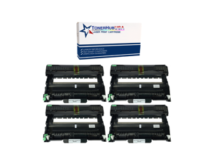 TONERHUBUSA Compatible Drum Unit Replacement for Brother DR420 (4-Pack)