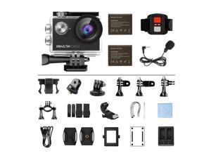 Dragon Touch Vision 4 Sport Aktion Kamera Action Cam 4K WiFi Unterwasserkamera