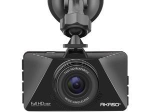"AKASO c200 Dash Cam Car Dashboard Camera Recorder with 1080P Full HD 3"" LCD Screen 170° Wide Angle Lens Loop Recording Night Vision (C200)"