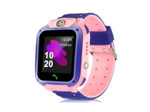 Waterproof Tracker Smart Kids Child Watch Anti-lost SOS Call For iOS Android US-PINK