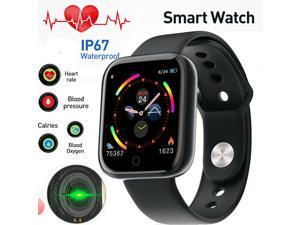 I5 Smart Watch Heart Rate Blood Oxygen Pressure Monitor For Apple IOS Android