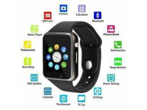 Smart Wrist Watch Bluetooth GSM Camera Phone For iphone IOS Android Samsung LG