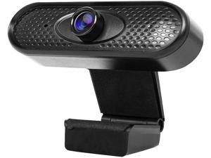 Dragon Touch Webcam, 1080P Web Cam with USB Plug, PC Computer Cam with Microphone, 2MP HD Web Camera Video Webcam with 135° Widescreen for Recording, Calling and Conferencing - WEC02