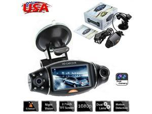 2.7 inch high definition screen Car DVR recorder GPS