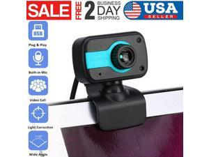 Upgrade 2.0 HD Webcam PC Digital USB Camera Video Recording with Microphone NEW