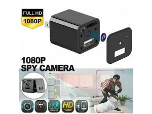 HD 1080P Hidden Camera USB Wall Charger Adapter Video Recorder Security Cam