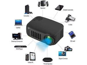 A2000 Mini Portable LED Projector Home Theater Cinema USB HDMI AV SD 1080P HD UK
