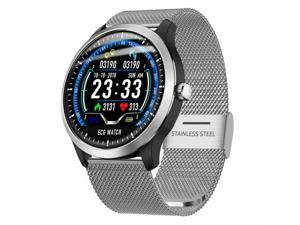 N58 ECG+PPG Smart Watch Display Holter Heart Rate Monitor Blood Pressure USA
