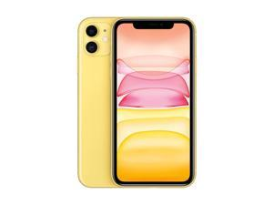 Apple iPhone 11 64GB A2221 MWLW2B/A (GSM Only | No CDMA) Factory Unlocked 4G/LTE Smartphone - Yellow