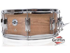 """Oak Wood Snare Drum by GRIFFIN 