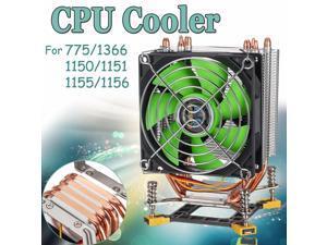 CPU Cooler Fan Cooling Radiator 3 Pin 90cm 4 Heat Pipes Cooler Cooling Fan Heatsink for Intel LGA 775/1366/1150/1151/1155/115
