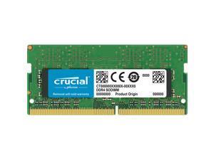 Crucial 4GB Single DDR4 2666 MT/s (PC4-21300) CL19 x16 SODIMM 260-Pin Memory - CT4G4SFS6266