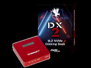 Digifast M.2 NVMe SSD Docking Base, USB3.2 GEN2 Type-C (10 Gbps), Lightweight, Portable Design - Red