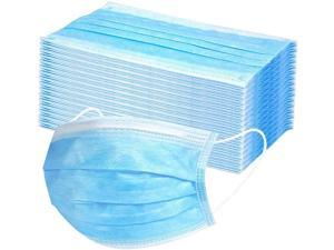 50 pcs Spot Disposable Masks Three-Layer Breathable Protective Mouth And Nose Mask
