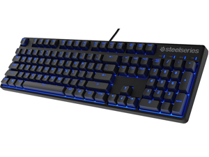 Steelseries Apex M500 Mechanical Gaming Keyboard with Cherry MX Blue Switches and Blue LED