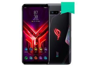 ASUS ROG Phone 3 5G ZS661KS Snapdragon 865+ Gaming Phone 12+256GB (GSM Only | No CDMA) Unlocked Tencent Version with fully Google Play Services - Black