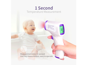 Digital Thermometer Infrared Baby Adult Forehead Non-contact Infrared Thermometer With LCD