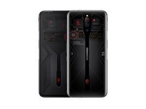 "ZTE Nubia Red Magic 5G 12+256GB 6.65"" 64MP Gaming phone Dual Sim Unlocked (GSM Only) Transparent"