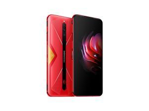 "ZTE Nubia Red Magic 5G 8+128GB 6.65"" 64MP Gaming phone Dual Sim Unlocked (GSM Only) Mars Red"
