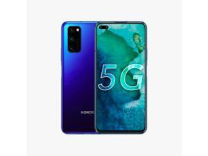 "HUAWEI HONOR V30 Pro 5G 8+256GB 6.57"" 40MP Android 10 Dual Sim Unlocked (GSM Only) Blue (With HUAWEI Mobile Service, No Google Service)"