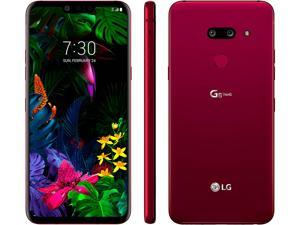 "LG G8 ThinQ LM-G820U Cell Phone 128GB 6GB RAM 6.1"" US Version Unlocked GSM Only - Carmine Red"