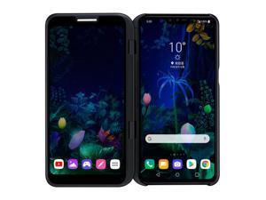 "LG V50 ThinQ 5G Dual Screen LM-V500N Cell Phone 128GB 6GB RAM 6.4"" US Compatible GSM Only Unlocked - Aurora Black"