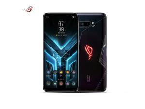 ASUS ROG Phone 3 5G ZS661KS Snapdragon 865 Gaming Phone 128GB 12GB RAM (GSM Only | No CDMA) Unlocked Tencent Version with fully Google Play Services - Strix Edition