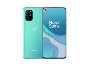 OnePlus 8T 5G Snapdragon 865 128GB 8GB RAM (GSM Only | No CDMA) Unlocked CN Global ROM Version with Fully Google Play Services - Aquamarine Green