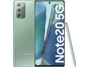 Samsung Note20 5G Snapdragon 865+ 128GB 8GB RAM N981U Unlocked (GSM only | No CDMA) Mystic Green
