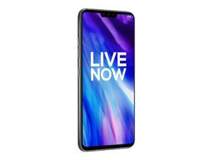 """LG V40 ThinQ 128GB 6GB RAM 6.4"""" 4G LTE Cell Phone Unlocked US Compatible GSM Only - Platinum Gray"""