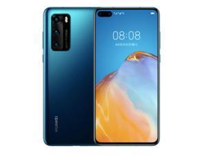Huawei P40 5G 8 + 128GB  6.1'' 50 MP  Dual Sim  Unlocked Deep Sea Blue (With HUAWEI Mobile Service, No Google Service)