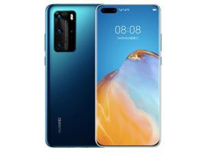 Huawei P40 Pro 5G 8 + 128GB  6.58'' 50 MP  Dual Sim  Unlocked Deep Sea Blue (With HUAWEI Mobile Service, No Google Service)