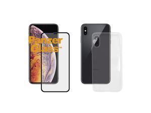 PanzerGlass Apple iPhone X/Xs Case Friendly Black 360 Bundle
