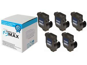 SuppliesMAX Compatible Replacement for Hasler WJ-20 Red Postage Meter Inkjet (5/PK-2500 Page Yield) (WJ20INK_5PK)