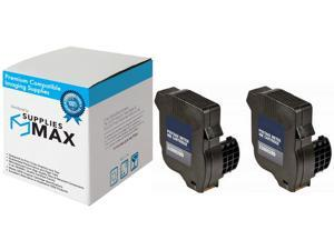 SuppliesMAX Compatible Replacement for Hasler WJ-20 Red Postage Meter Inkjet (2/PK-2500 Page Yield) (WJ20INK_2PK)